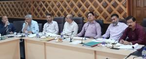 Hirdesh Kumar reviews progress of flagship scheme...