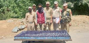 Six drug peddlers arrested in J&K