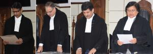 3 HC judges administered oath of office in Jammu