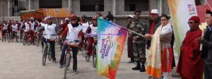 DDC Leh flags-off