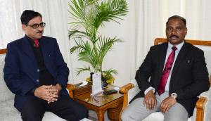 Dr. Aziz Hajini calls on Lt Governor
