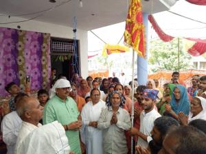Ganga stresses on spirituality for enlightened li...