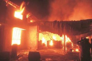 Blaze in Karol Bagh factory, four dead