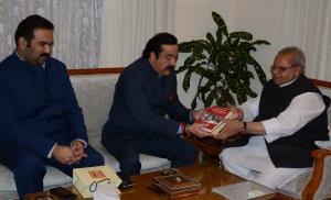 MLC Ajatshatru Singh meets GovernorMLC Ajatshatru...