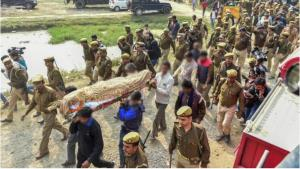 Unnao rape victim who was burnt alive gets buried...
