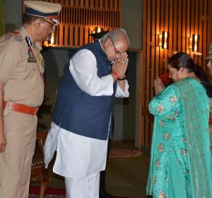 Governor presents President and Police Medals to ...