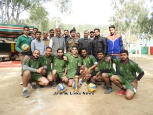 Army conducts Inter Village Volleyball Tournament