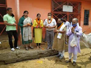 Mayor visits Goshalla, kick starts development wo...