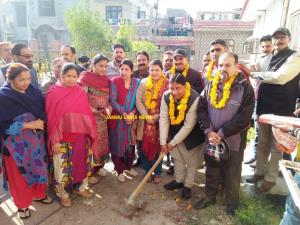 Sat Sharma inaugurates developmental works in War...