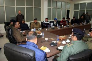 Traffic Police officers, office bearers of Mini-B...