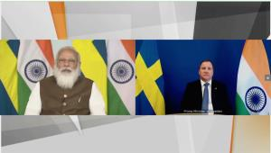PM Modi pitches for deepening ties with Sweden in...