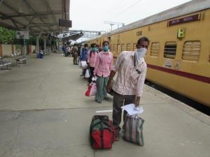 Shramik Special trains ferried around 42 lakh mig...