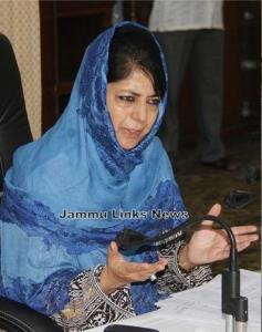 Mehbooba hits back at Shah; says PDP never