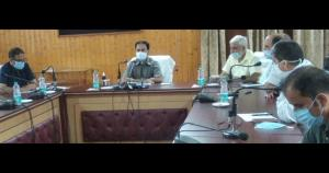 DDC Baramulla reviews progress of upgradation wor...