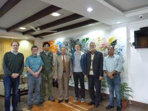 International experts visit JU to study the Pampo...