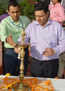 Div Com Jammu kick-starts Khelo India Sports even...