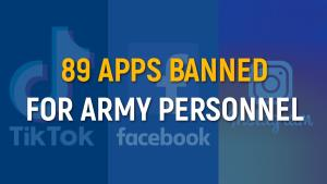 Indian Army asks personnel to delete 89 apps incl...