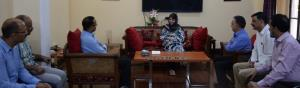 KAS officers meet Mehbooba Mufti, thank her for t...