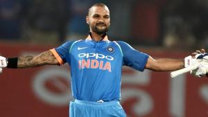 India ride Shikhar Dhawan