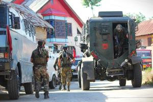 Three terrorists killed in Sopore encounter, sear...