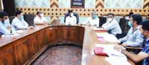 DDC Kupwara reviews Power sector