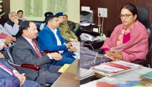 DC Jammu reviews functioning of District Red Cros...