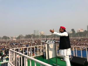 SP-BSP alliance led to wave of happiness; BJP wor...