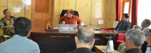 CEC Kargil for early disposal of land issues