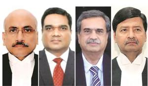 Four new SC judges administered oath of office