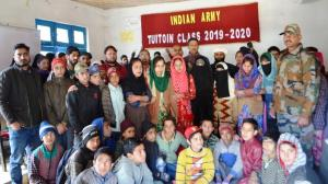 Army organised Tuition Classes