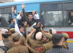 PYC holds protests against PNB scam