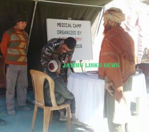 Indian Army organises medical camp