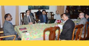 Lt. Governor reviews functioning of Shri Amaranth...