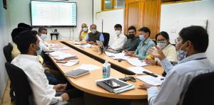 Saugat Biswas reviews DBT transactions for schemes