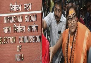 Election Commission to issue notice to Pragya Tha...