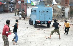 Stone pelting down since operations suspended in ...
