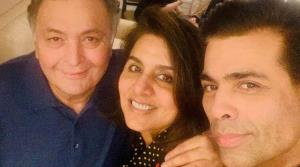 Karan Johar meets his