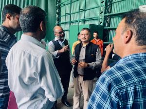 Amit checks RTO Kashmir, SRTC Yard & Director Gar...