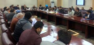 Director General RDD Jammu reviews progress on Ce...