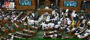 Congress gives notice of adjournment motion in LS...