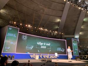 Recalling Chandrayaan 2 launch, PM Modi tells stu...