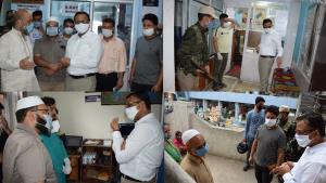 DDC Doda visits Ultrasonography centres, clinics