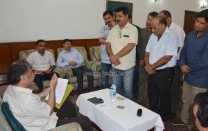 Advisor Ganai listens to public issues at Jammu