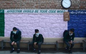 Kashmir schools resume class work after a year of...