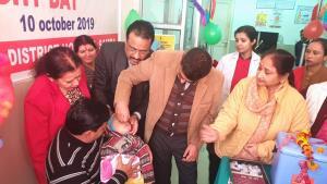 DDC Samba inaugurates Pulse Polio Programme