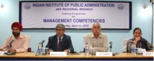 "Training prog on ""Management Competencies"" held a..."