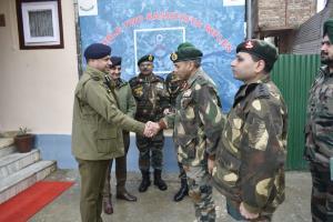 SSP Sopore gets COAS Commendation Card