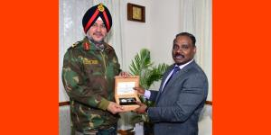 Northern Army Commander meets Lt. Governor