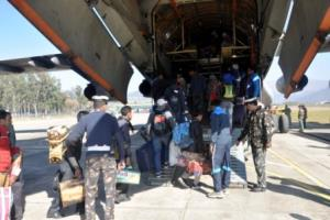 IAF airlifts 233 stranded passengers from Udhampu...