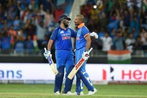 India vs Pakistan:Rohit Sharma, Shikhar Dhawan c...